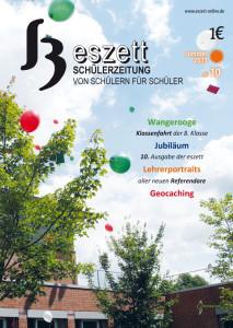eszett Titelseite Sommer 2013
